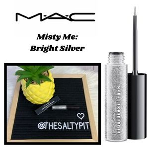 Just In! NIB MAC Liquidlast Eyeliner, Misty Me